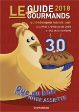 Guide des Gourmands 2018 : commandez-le !