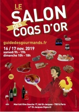Salon des Coqs d'Or : 16/17 nov. 2019